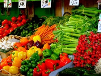 Los colores de los alimentos