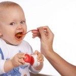 Alimentación semi-sólida del Bebé