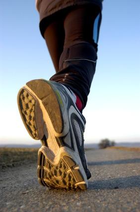 Camina y olvídate del peso extra