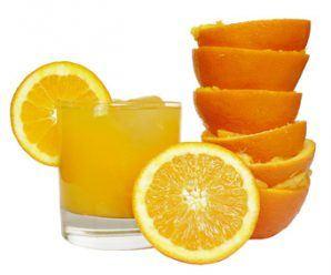 zumo de naraja