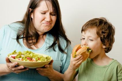 Cuando toda la familia sufre por el peso