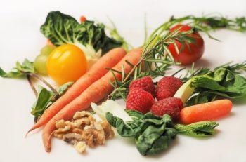 comida baja en calorías y grasa